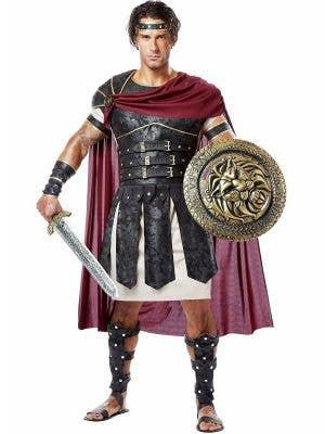Roman Gladiator Men's Fancy Dress Costume