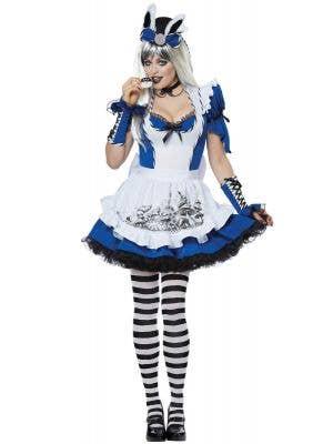 Mad Alice Women's Deluxe Alice in Wonderland Costume