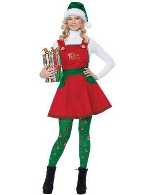 Elf in Charge Women's Fancy Dress Christmas Costume
