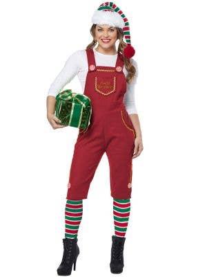 Santa's Workshop Women's Red Christmas Elf Costume