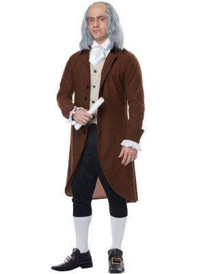 Benjamin Franklin Men's Colonial Dress Up Costume