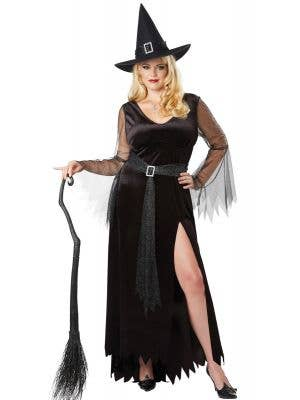 Rich Witch Women's Plus Size Halloween Costume