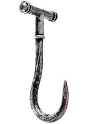 Antique Look Medieval Bloody Meat Hook Halloween Accessory