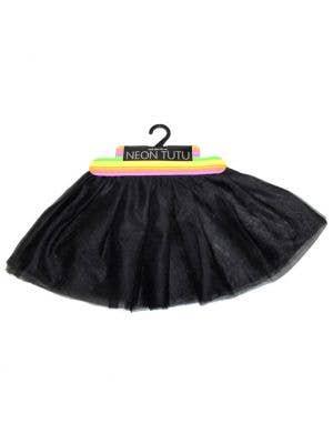 Girl's Soft Mesh Layered Costume Tutu Front View