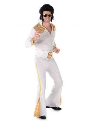 Elvis Presley Men's Fancy Dress Costume Main Image