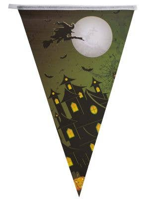Flying Witch Halloween Bunting Decoration Main Image