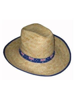 Australia Day Aussie Flag Straw Hat