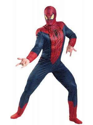 The Amazing Spiderman Men's Plus Size Marvel Costume Main Image