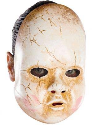Porcelain Baby Doll Cracked Mask