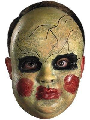 Creepy Porcelain Doll Halloween Mask