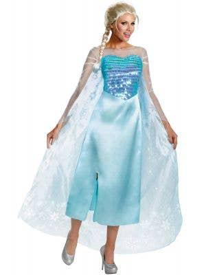 Frozen Women's Queen Elsa Fancy Dress Costume