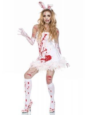 Zombie Slayboy Bunny Sexy Women's Halloween Costume