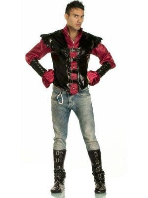 Men's Vampire Master Of Shadows Halloween Costume - Main Image