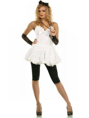 Women's 80's Material Girl Fancy Dress Main Image