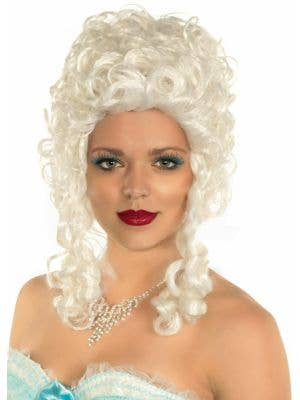 Queen of France White Marie Antoinette Costume Wig