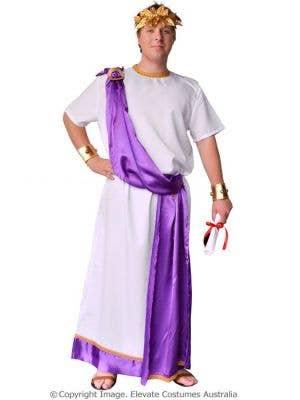 Julius Caesar Men's Plus Size Roman Costume