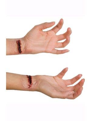 Slashed Wrists Horror Latex Special Effects KIT