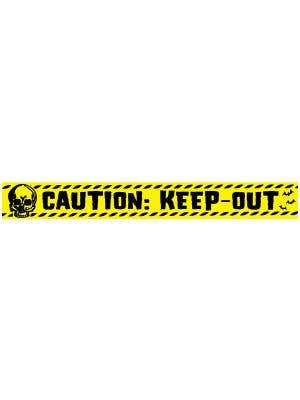 Caution Keep Out Tape Halloween Decoration