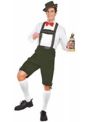 Hansel Men's Green Oktoberfest Dress Up Costume