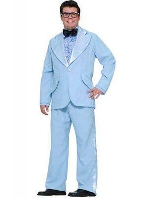 50's Prom King Men's Powder Blue Plus Size Costume