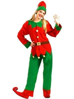 Classic Women's Christmas Elf Costume