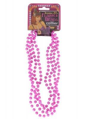 1920's Purple Flapper Beads Costume Accessory Jewellery