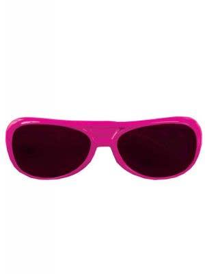 Aviator Style Hot Pink Sunglasses