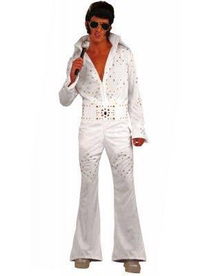 Vegas Superstar Men's Elvis Presley Dress Up Costume