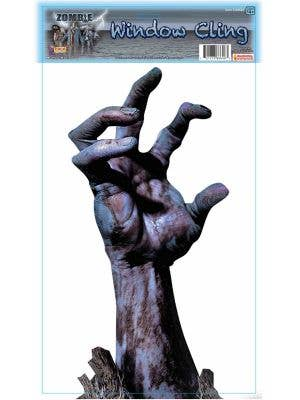 Zombie Arm Window Cling Decoration