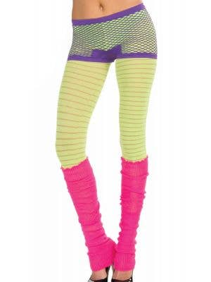 Candy Club Fishnet Purple Booty Shorts Costume Accessory