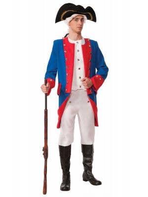 Men's Civil War General Deluxe Colonial Costume