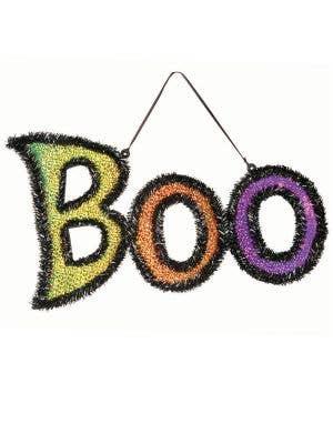 BOO Hanging Door Sign Decoration