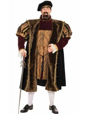 Henry the VIII Deluxe Men's King of England Costume