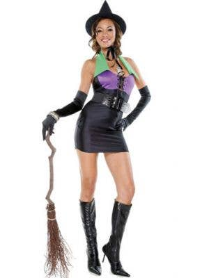 Miss Bewitched Sexy Halloween Witch Costume