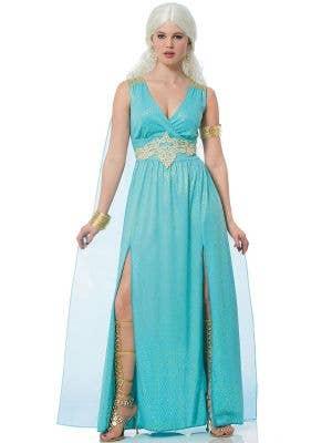 Mythical Goddess Women's Blue Aphrodite Costume