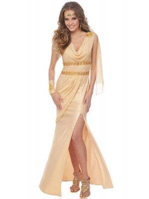 Golden Sun Goddess Women's Fancy Dress Costume
