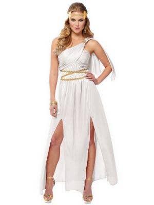 Roman Empress Women's White Toga Costume