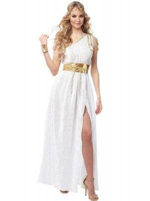 Grecian Beauty Women's White Goddess Costume