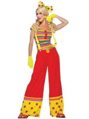 Moppie The Clown Women's Fancy Dress Costume