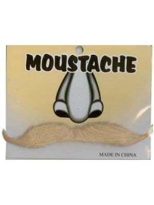 Gentlemen's Blonde Stick On Fake Moustache