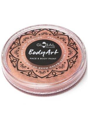 Metallic Rose Gold Powder Cake Makeup - Front Image