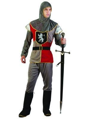 Medieval Knight Cheap Dress Up Costume for Men Main Image