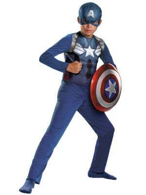 Captain America Boys Avengers Fancy Dress Costume