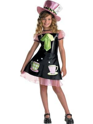 Mad Hatter Costume for Girls - Main Image