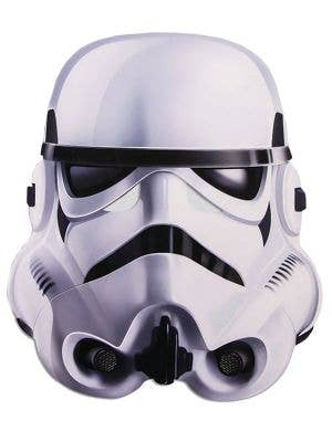 Flat Cardboard Stormtrooper Costume Mask Main Image