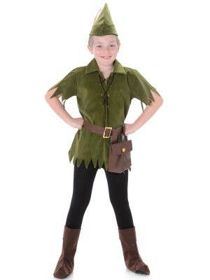 Boys Peter Pan Book Week Fancy Dress Costume Main Image