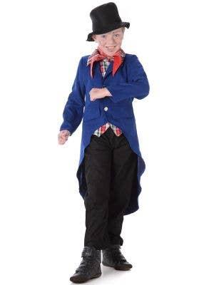 Boy's English Pick Pocket Fancy Dress Costume Main Image