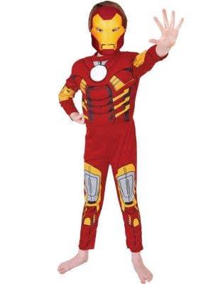 Deluxe Iron Man Avengers boys costume main image