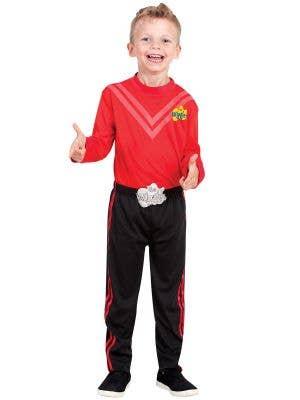 Kids Red Simon Wiggle Costume - Main Image