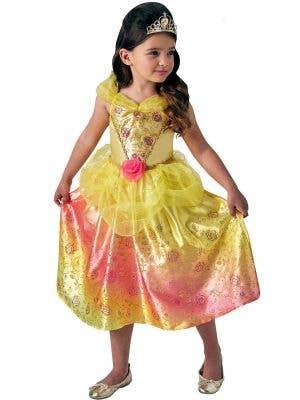 Rubies Belle Girls The Beauty and the beast Disney Princess Book Week Kids Fancy Dress Costume Main Image